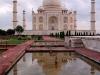 Taj Mahal mit Spiegelung
