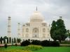 Taj Mahal mit Garten