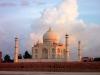 Sonnenuntergang am Taj Mahal