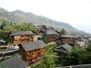 Dorf in den Reisterrassen