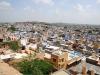 Blick auf Jodhpur auf dem Weg zum Mehrangarh Fort