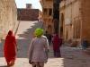 Turban in neongelb