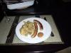 Bratwurst und Kartoffelsalat