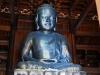 Silberner Buddha