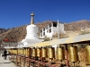 Stupa und Gebetsräder